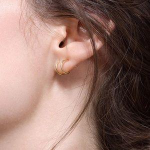 RYANNE ✨ 925 Gold Dainty Minimalist Stud Earrings